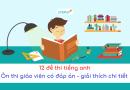 12 đề thi tiếng anh viên chức giáo dục có đáp án miễn phí